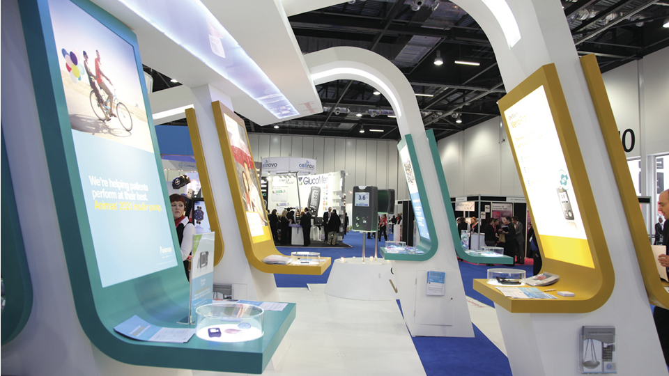 Modern Exhibition Stand Uk : Attracting visitors to your exhibition stand monitor